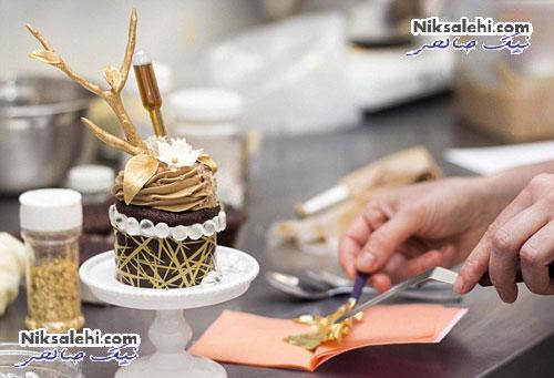 کیک سفارشی مردی به مناسبت تولد 40 سالگی همسرش