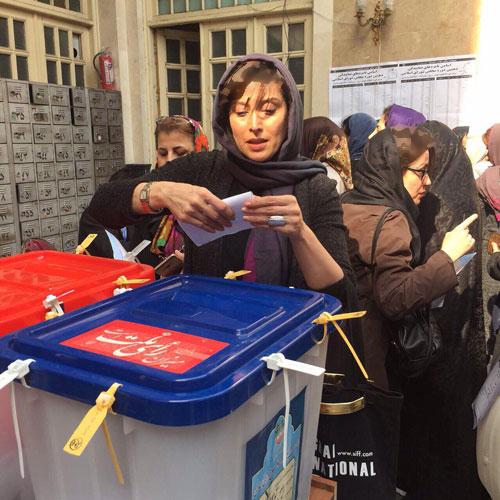 رای آزاده نامداری و مهتاب کرامتی هنرمندان کشورمان تصاویر