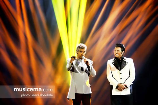 کنسرت جدید فرزاد فرزین با حضور بازیگران مشهور