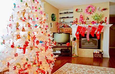 دکوراسیون های خیلی زیبای کریسمس تصاویر