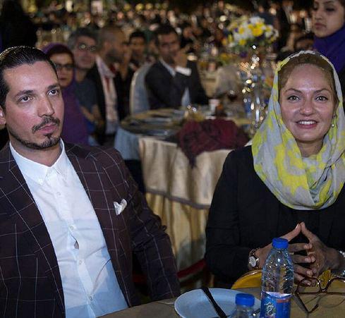 از حضور مهناز افشار و همسرش در مراسم روز ملی سینما عبرت بگیرید! تصاویر