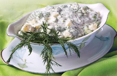 طرز تهیه سالاد سبز کم کالری و لذیذ