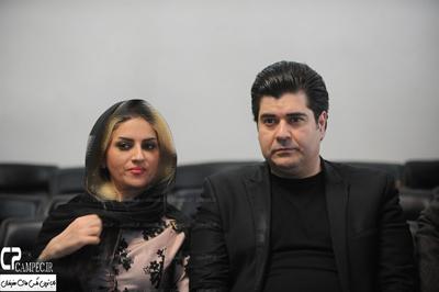 جدیدترین تصویر سالار عقیلی و همسرش عکس