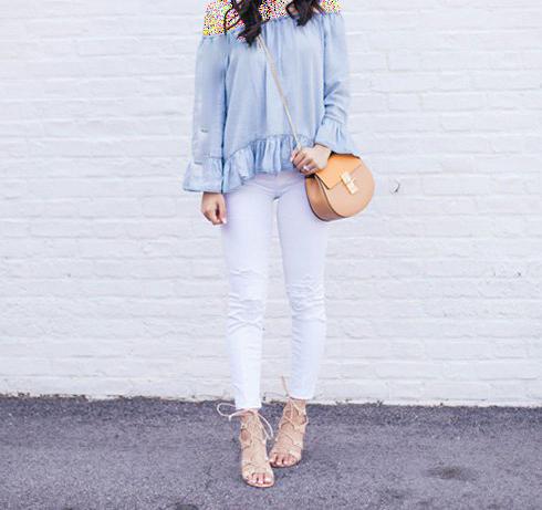 ایده هایی بسیار کربردی ست کردن لباس با شلوارهای جین مختلف