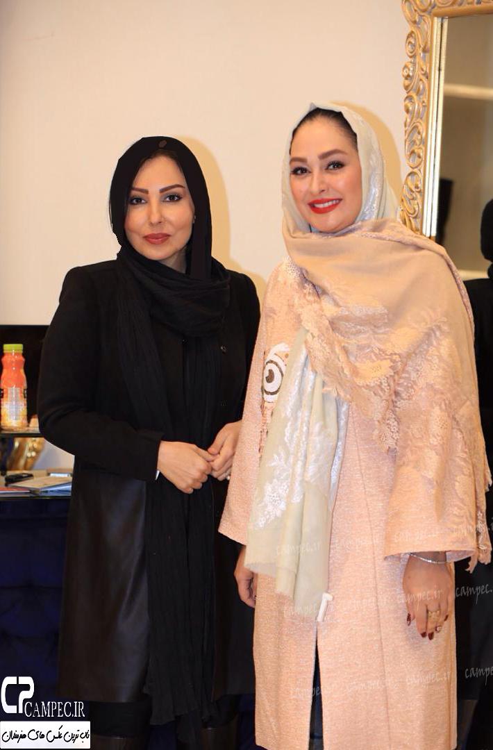 بازیگران زن در افتتاحیه برند نیو حجاب
