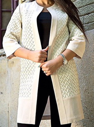 جدیدترین و شیکترین مدل مانتو 2016 برندهای ایرانی تصاویر