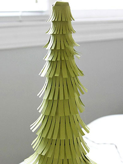 آموزش ساخت درختی بسیار زیبا با مقوا