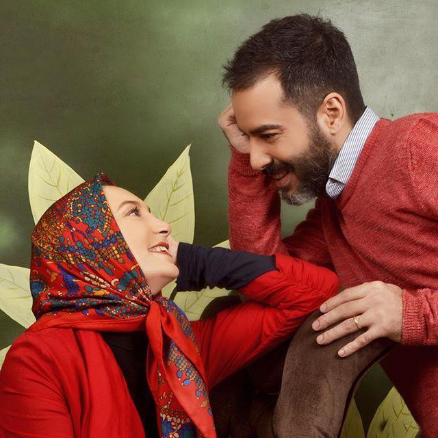 عکس های نوروزی و جالب سحر ولدبیگی و همسرش نیما فلاح