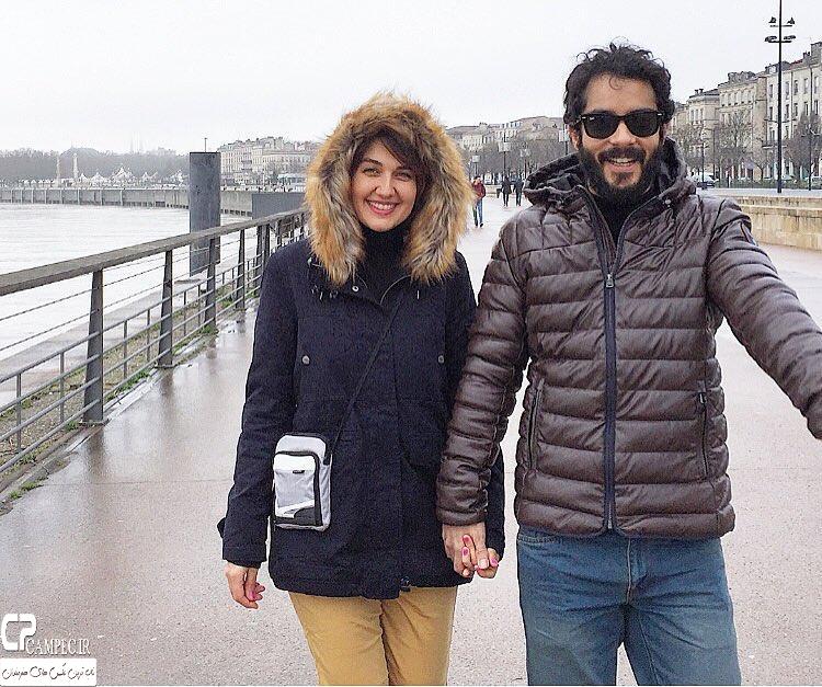 عکس های جدید ساعد سهیلی با همسرش گلوریا هاردی بازیگر سریال کیمیا