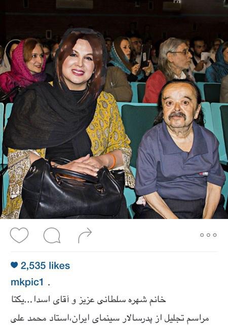شهره سلطانی بازیگر زن کشورمان در کنار بازیگران مرد تصاویر