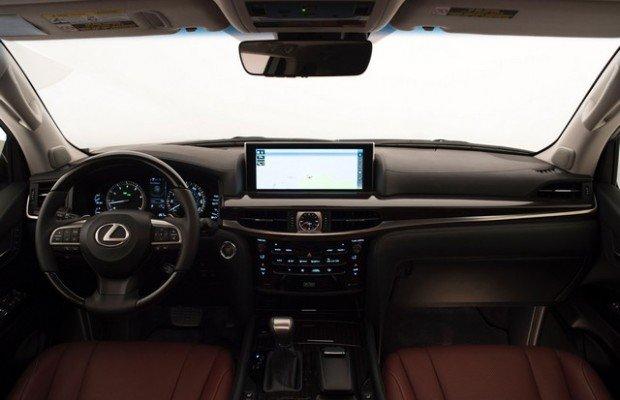 عکس های خودروی فیس لیفت لکسس LX570  مشخصات