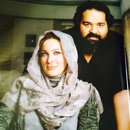 جشن تولد همسر رضا صادقی و عکسهایی از همسرش تصاویر