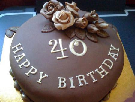 تزیین کیک شکلاتی خانگی تصاویر