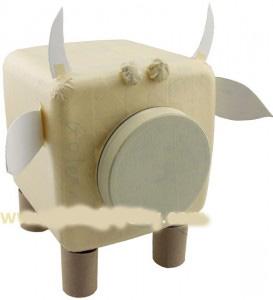 ساخت عروسک گاو برای کودکان بادورریختنی ها تصاویر