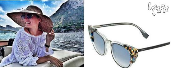 عینک آفتابی، به سبک ستاره ها