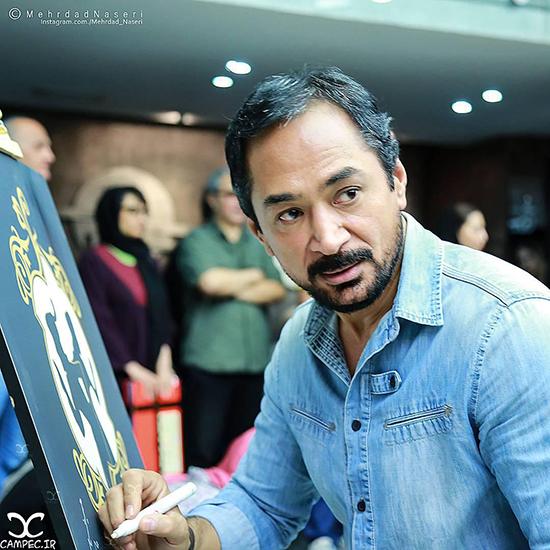 عکس های محمد حاتمی بازیگر سریال های محبوب تلویزیونی با همسر و فرزندان