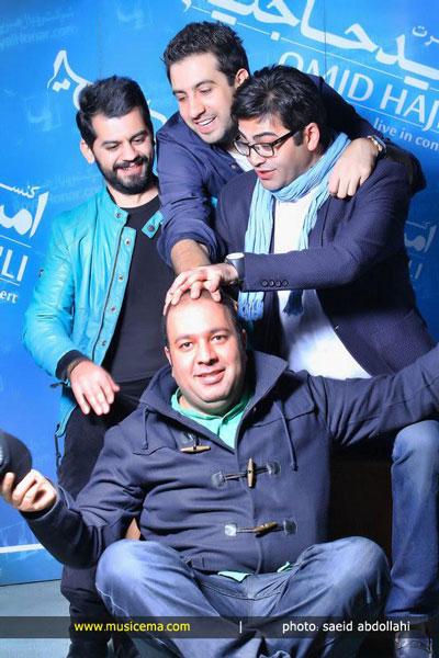 کنسرت «امید حاجیلی» با حضور چهره ها؛ از عابدزاده تا فرزاد حسنی تصاویر