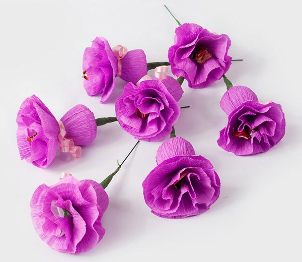 آموزش ساخت دسته گل شیرین تصاویر