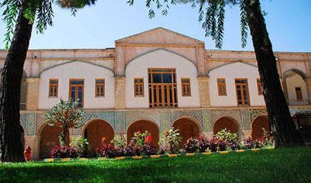 عمارت مفخم بزرگترین و شاخصترین اثر معماری دوره قاجار در خراسان شمالی تصاویر