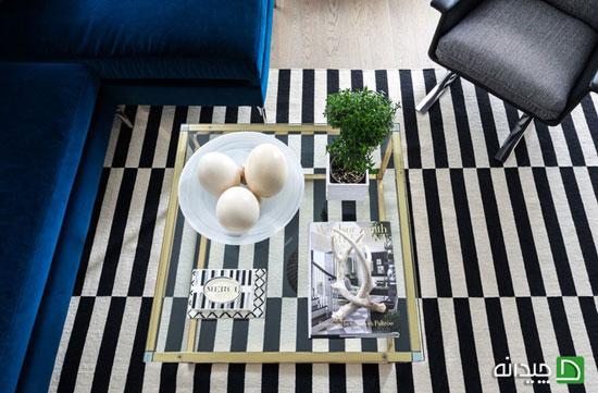 تزیین میز جلو مبلی با ساده ترین ایده ها