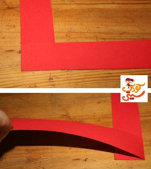 کاردستی شمع کاغذی بسیار آسان