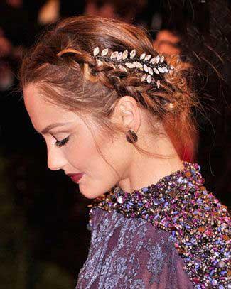 مدل موهای فوق العاده شیک ستارگان در مراسم عروسی/تصاویر