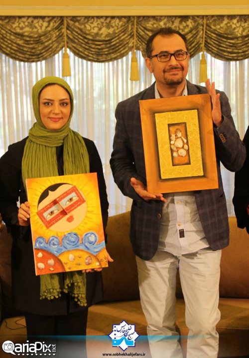 عکسهای جدید لیلا برخورداری و سیاوش مفیدی در خلیج فارس