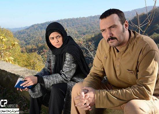 بازیگران مشهور در پشت صحنه سریال پشت بام تهران