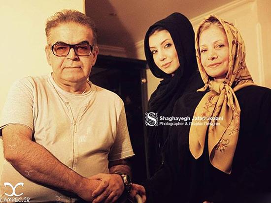 عکس های جدید حمید لولایی با همسر و دخترانش
