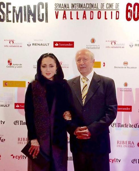 عکس های جدید نیکی کریمی و پدرش در اسپانیا