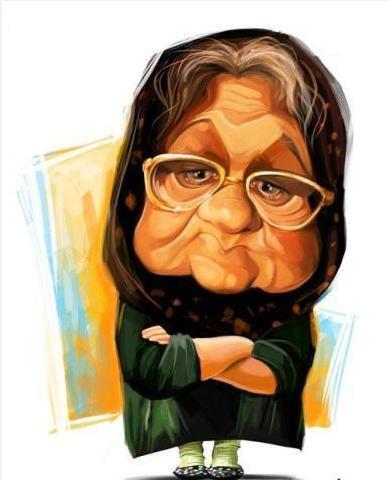 کاریکاتورهای جالب از بازیگران مشهور ایرانی!