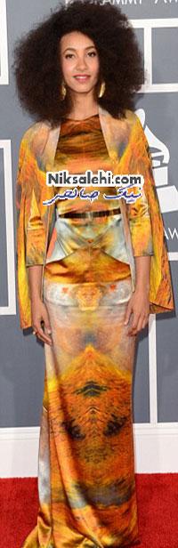 لباس های عجیب مراسم گرمی 2013
