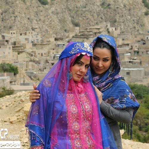 عکس های جدید فقیهه سلطانی با لباس محلی در گچساران