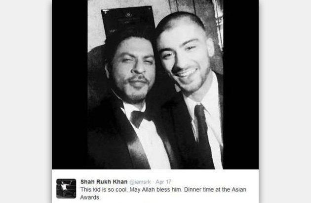 «شاهرخ خان» بازیگر معروف بالیوود شاعر شد! تصاویر