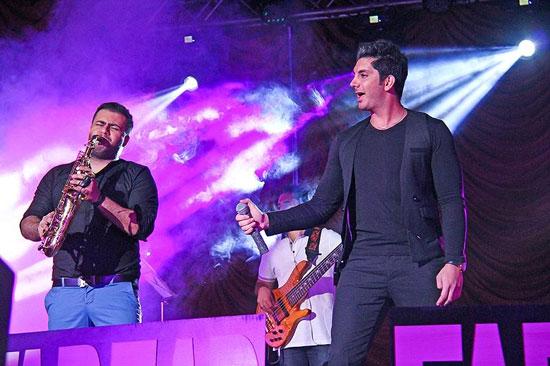 کنسرت فرزاد فرزین در کرمانشاه تصاویر