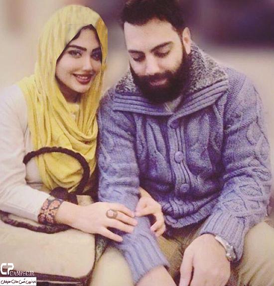 عکس های جدید بهادر زمانی بازیگر سریال تنهایی لیلا با همسرش