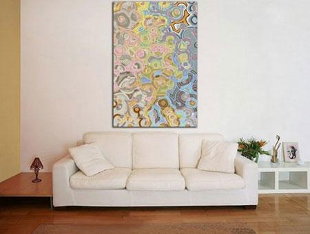دکور خانه با تابلوهای مدرن  تصاویر