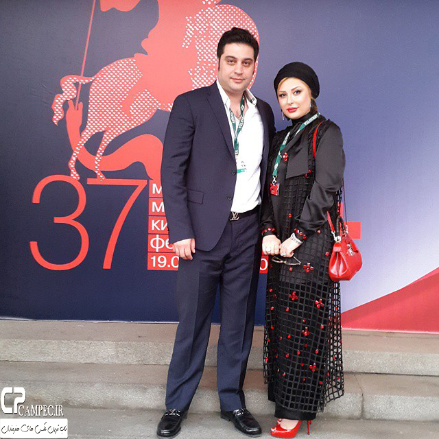 عکس های جدید نیوشا ضیغمی در جشنواره فیلم مسکو