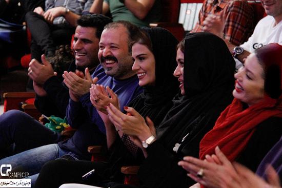 بازیگران مشهور در جشن خیریه لبخند