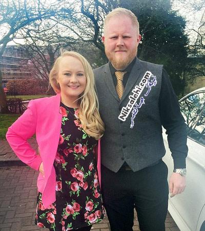 کاهش وزن دیدنی زوجی برای روز عروسی شان