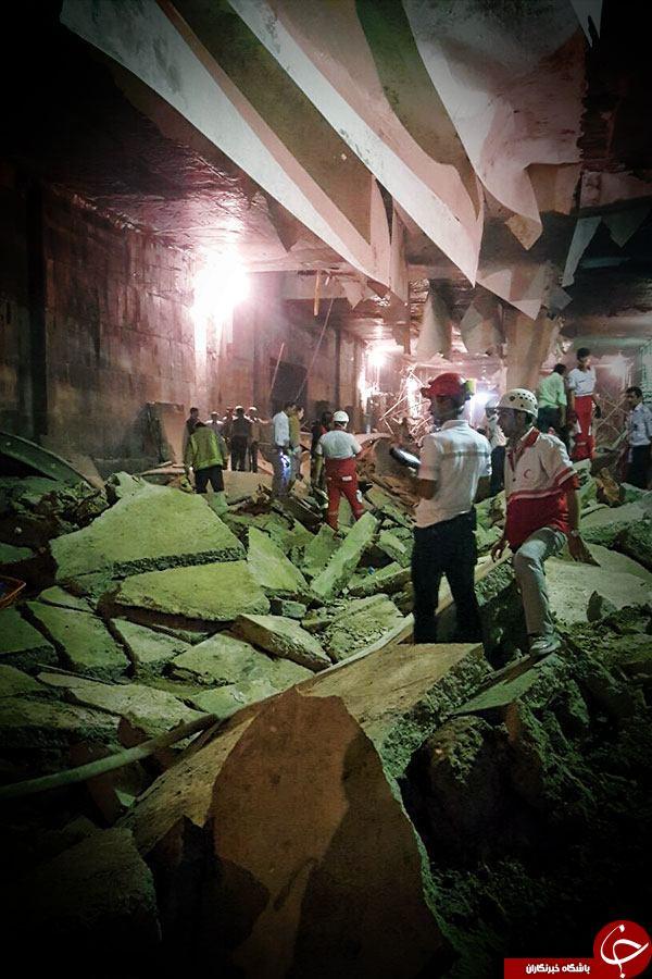 جزییات ریزش تونل مترو کیانشهر از زبان شاهد عینی