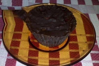 کیک شکلاتی کدو حلوایی بدون آرد و روغن