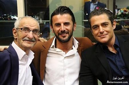 گلزار، امین حیایی و احمد پورمخبر عکس