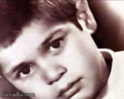 عکس دوران کودکی علی دایی !