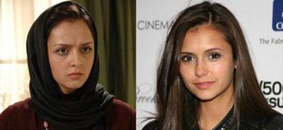 شباهت بازیگران ایرانی و خارجی به همدیگر