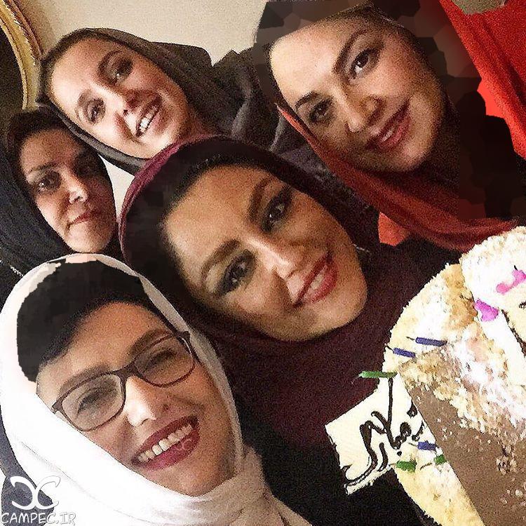 عکس های زیبای جشن تولد شقایق فراهانی