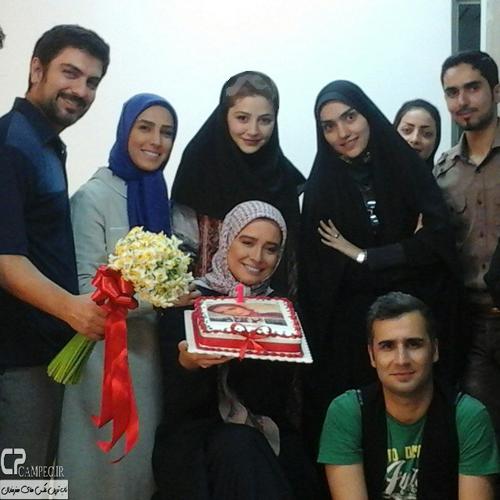 جشن یک سالگی سریال تاریخی کیمیا با حضور مهراوه شریفی نیا ، پوریا پورسرخ و دیگر بازیگران