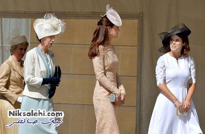 حضور کیت میدلتون در تولد شوهر ملکه