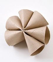ساخت کاردستی گل مقوایی  تصاویر