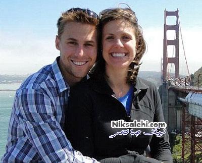 زوج تازه ازدواج کرده حادثه بمب گذاری بوستون
